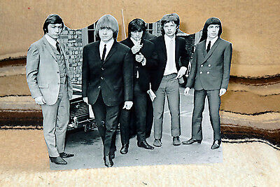 """The Rolling Stones British Rock Group Tabletop Standee 8 1/4"""" Long"""