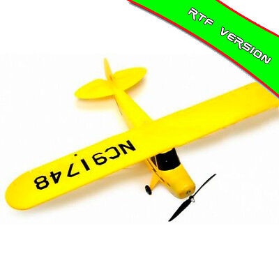 Avión Super J3 Piper Cup Eléctrica Brushless 1070mm 2,4Ghz Dynam-RC (DY8927-Y)