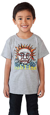 Sublime Rock Band Toddler Baby Boys Graphic T-Shirt - Gray