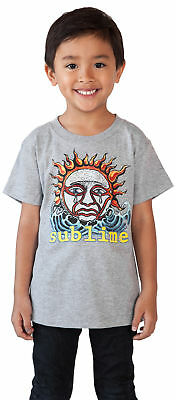 Sublime Rock Band Toddler Baby Boys T-Shirt - Gray Size 18 months