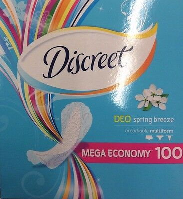 200x Discreet DEO Spring Breeze Pads/Towels (by P&G)