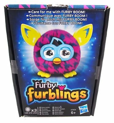 FURBY FURBLINGS Houndstooth Furbling BABY FURBY plays with Furby Boom