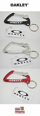 Oakley® Brand Genuine Large Carabiner Keychain Clip 99173- New Free Shipping
