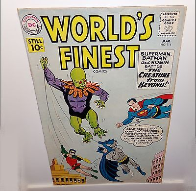 Worlds Finest #116  Dc Silver Age Comic  Gd 2.0