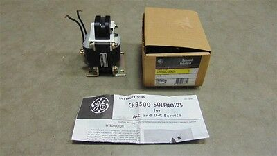NIB General Electric CR9500C100A2A Industrial Pull Solenoid 115V Coil