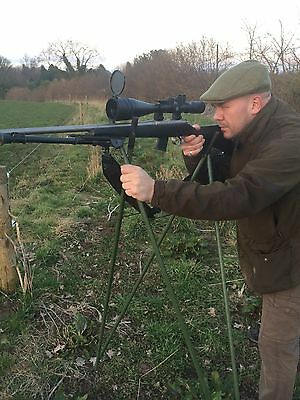Quad Shooting Sticks, Stalking, Rifle Rest, Foxing, Deer, Rabbiting