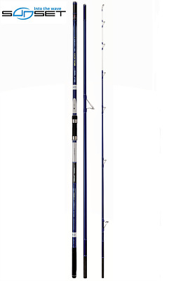 New SUNSET SOLICA 4.20m 14' 100-200g 12-18kg CARBON SURF BEACH SPINNING RODS