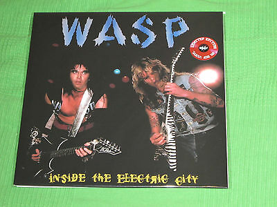 W.A.S.P. RED LP Inside The Electric City Live 1986 WASP Motley Crue Kiss Cooper