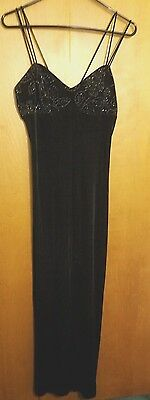 Long Formal Evening Prom Party Dress Bridesmaid Dresses Ball Gown Cocktail black