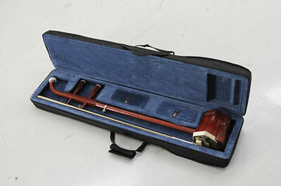 Erhu Chinese Traditional 2-strings Instrument Chinese Violin + Erhu box