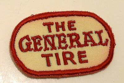 "General Tires Patch Embroidered  2-5/8"" inches Vintage"