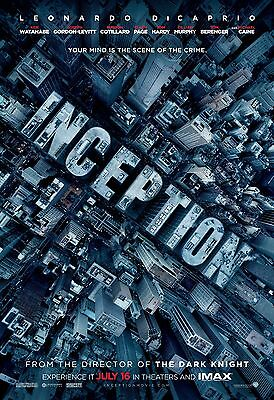 """Inception Movie Poster 18"""" x 28"""" ID:1"""