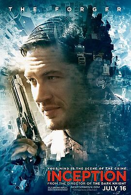 """Inception Movie Poster 18"""" x 28"""" ID:7"""
