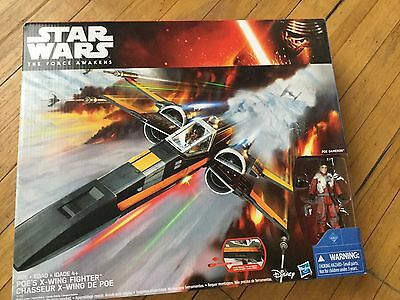 Star Wars Force Awakens Xwing Fighter Toy Model