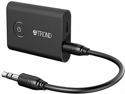 TROND Bluetooth V4.1 Transmitter Receiver Audio Adaptor with AptX Low Latency