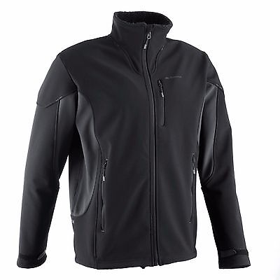 Quechua Forclaz 900 Extra Warm Herren SoftShell Jacke Jacket Schwarz Outdoor