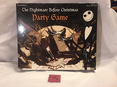 Tim Burton's 'The Nightmare Before Christmas Party Game' Great Shape !