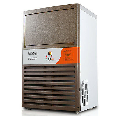 Commercial Ice Maker Auto Clear Cube Ice Making Machine 90kg/24h for Bar 220V Y