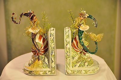 OOAK Mermaid bookends (see details)