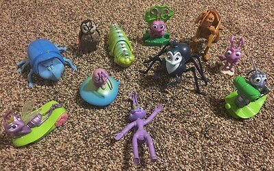 Large Lot of Disney's  A Bug's Life Action Figures   FREE SHIPPING