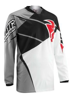 THOR Jersey S15  - PRIME TRIAD BLACK / GREY  LARGE   ****CLEAROUT***  2910-3377