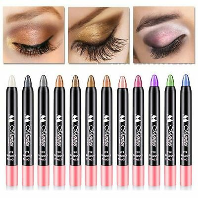 Auto-rotation Eyeliner Waterproof Eye Shadow Pen Lying Silkworm Pencil Makeup