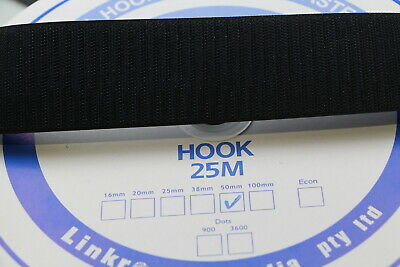 Hook and Loop Adhesive HOOK SIDE 25mts 25mm Sewing Horse rugs, bags, canvas