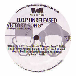 B.O.P - Victory Song (Unreleased Mixes) - MAW - 2003 #100809