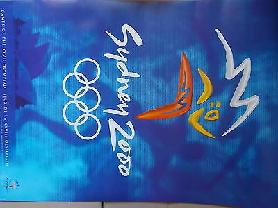 Olympic Poster Sydney 2000 ,Main poster of the Games
