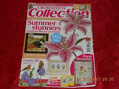 2009 Cross Stitch Collection Magazine August 2009 Issue 173