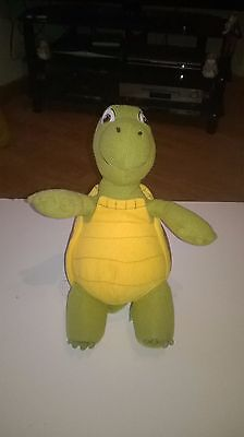 Verne the Turtle from Over the Hedge soft plush toy. 12 inches high