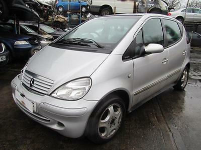 2002 Mercedes-Benz A160 Avantgarde Salvage Category C with Logbook 054605