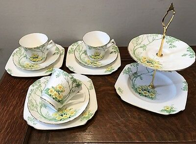 Art Deco Rare 'Primrose Dale' by new Chelsea trio - Hand painted