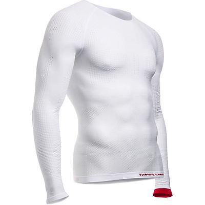 Compressport COMP On/Off Multi LS WE XS | Size = X-small | Colour = White