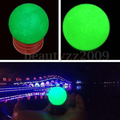 35MM Large Luminous Glow In Dark Stone Quartz Crystal Sphere Ball 2017 Gift NEW
