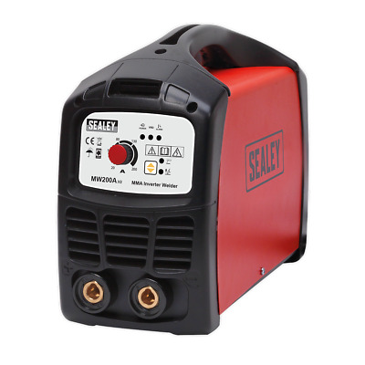 Silverline 250A MMA Arc Welder 65 - 250A Earth cable Electrode Holder + Mask