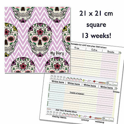 Diet Food Diary Slimming World Compatible Planner Tracker Log Book Weight Loss S