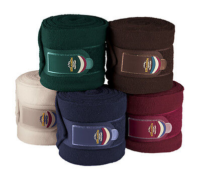 Eskadron Heritage Collection Fleece Bandages 5 Colours *winter 2016 Collection*