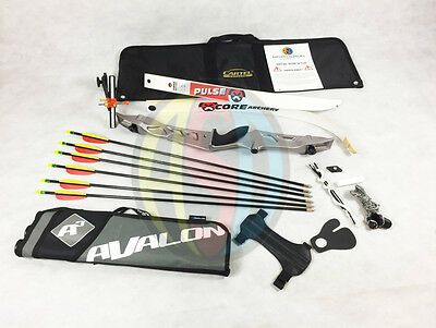 "Silver 68"" RHD Core Archery Jet Take Down Recurve Bow & Complete Package"