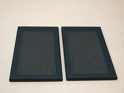 Pair of Stirling Broadcast LS3/5a Front grilles - Tygan covered