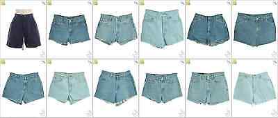 JOB LOT OF 34 VINTAGE MIXED SHORTS - Mix of Era's, styles and sizes (17884)*