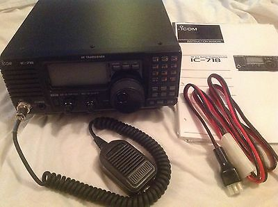 Icom 718 HF Transceiver With DSP Fitted