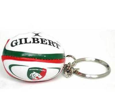 Leicester Tigers Rugby Ball Keyring