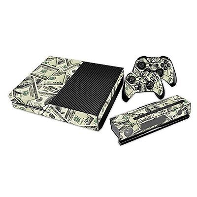 Xbox One Console Controllers Skin Cover Fullskin Money Cash Easy Install Unique