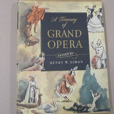 A TREASURY OF GRAND OPERA simon / sirmay