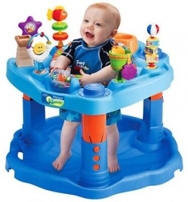 Evenflo ExerSaucer Baby Activity Center, Fun Mega Splash Design