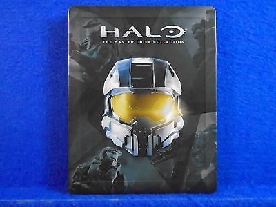 HALO The MASTER CHIEF COLLECTION Steelbook Case ONLY (G2 SIZE PS3 PS4 Xbox One)