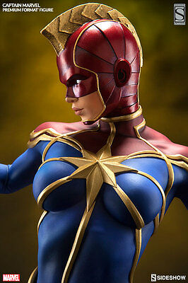 Sideshow Captain Marvel Premium Format Figure Statue Exclusive ~Brand New~
