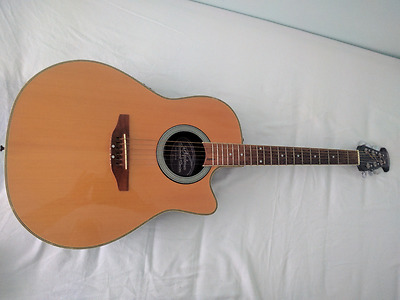 Applause by Ovation Summit series AE28 electro acoustic guitar