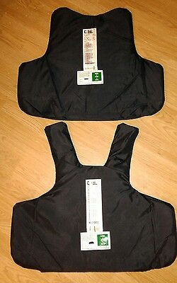 FRONT & BACK Mehler body armour HG2 KR2 SP2 STAB PROOF PANELS,SIZE M-5X/L